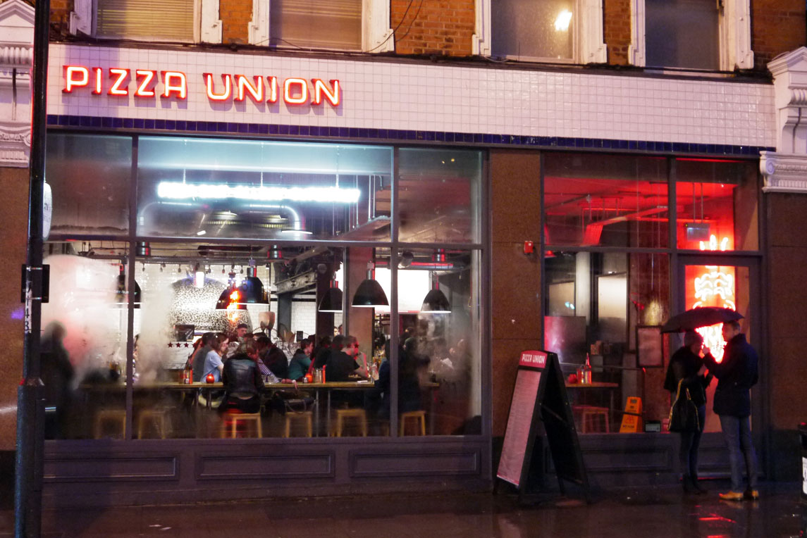 Pizza Union - Shopfront - Stanza Design