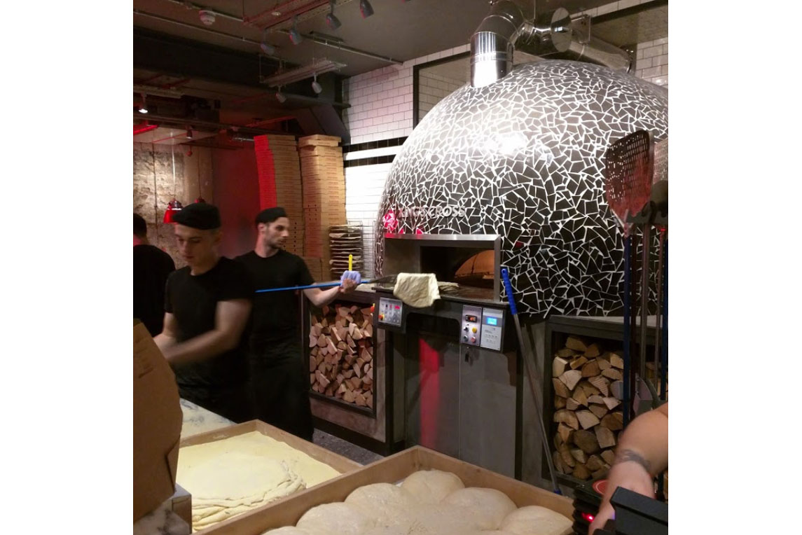 Pizza Union - Wood fired oven - Stanza Design