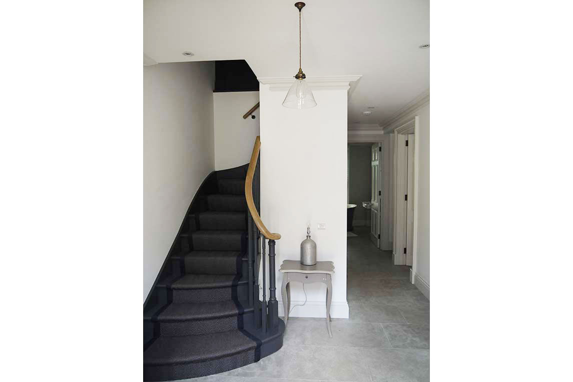 House, Holland Park - Interior view - Entrance hall design