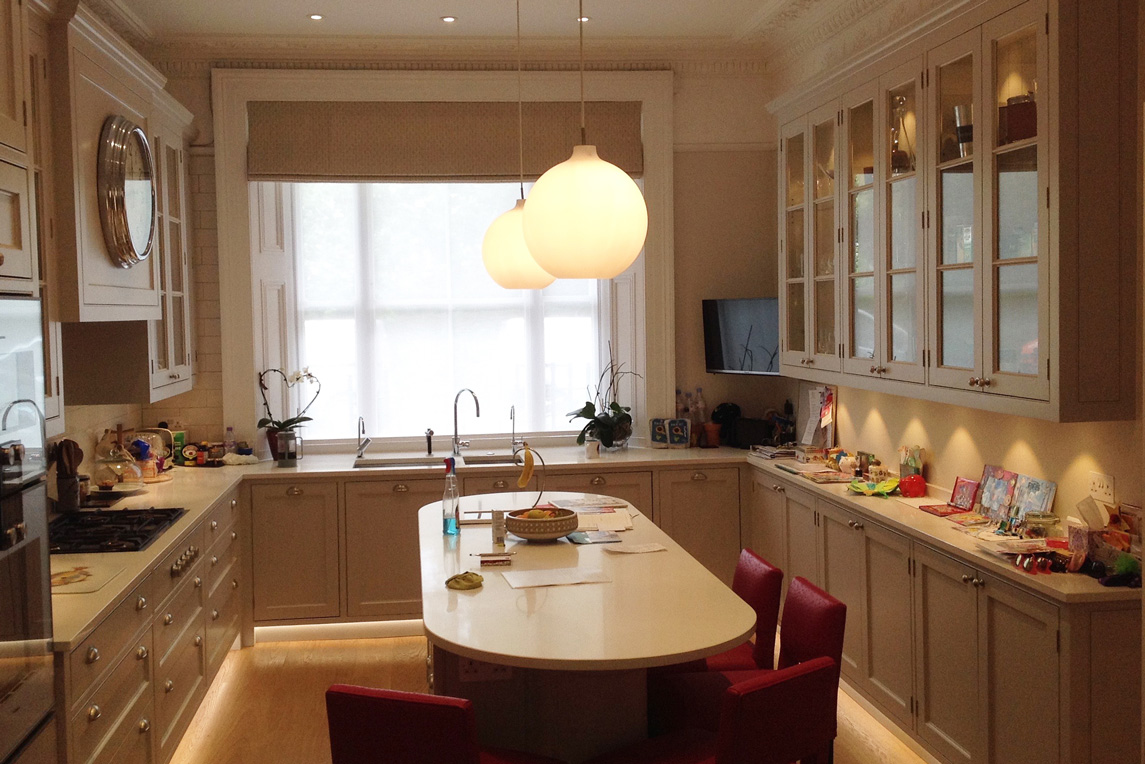 House, Notting Hill - Interior view - Kitchen design