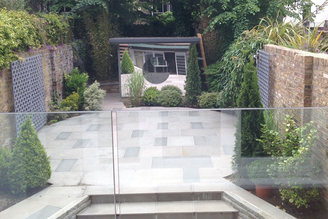 House, Notting Hill - Exterior view - Rear garden - Stanza Design