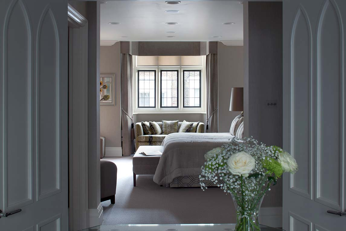House, Kensington - Interior view - Master bedroom design