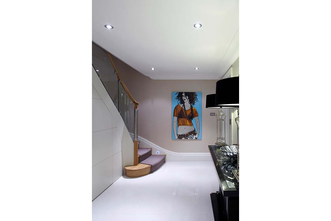 House, Kensington - Interior view - Basement space design